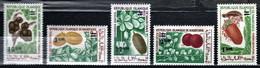 Mauritania 1975 Mi 501-505 Fruit - MLH - Mauritania (1960-...)