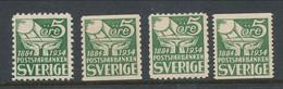 Sweden 1933 Facit # 238-239. 50th Anniv. Of The Postal Savings Bank. MNH (**) - Nuevos