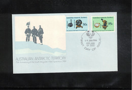 Australian Antarctic Territory 1984 South Magnetic Pole Expedition FDc - FDC