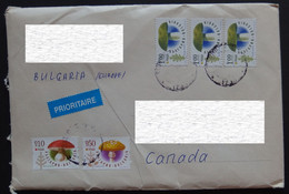 2019 Bulgaria To Canada Cover - Briefe U. Dokumente