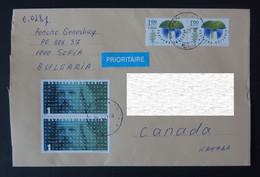 2021 Bulgaria To Canada Cover - Cartas