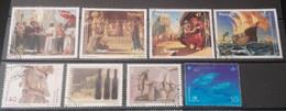 Portugal - 8 Selos Usados, Década 90 (Fauna, Animal) - Used Stamps