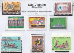 Vietnam South 1973 – 1974 MNH - Vietnam