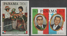 10/5 PANAMA - 1968 Mexico Friendship. Scott C381-A. Mint Light Hinge - Panama