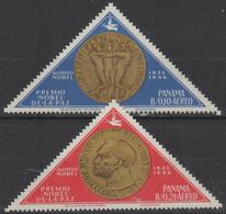 10/5 PANAMA - 1965 Nobel Prize. Scott C335-336. MLH - Panama
