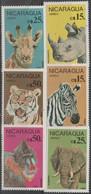 5/5 NICARAGUA - 1986 Animals. Scott C1137-1142. MNH - Nicaragua