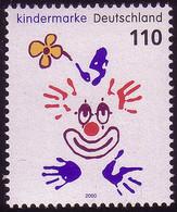 2134 Für Uns Kinder Clown Aus Block 53 ** - Ohne Zuordnung
