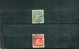 Danemark 1875-1902 Yt 6 8 - Dienstzegels