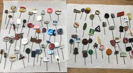 Enorme Lot De 78 Insignes / Epingles Anciennes / Pin's - Belgique - Lots