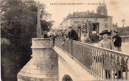 SAINT-NICOLAS-DE-PORT  Le Grand Pont - Saint Nicolas De Port