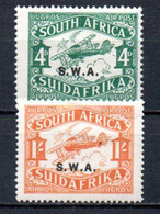 T1-15 Sud Ouest Africain PA N° 1 + 2 **  A Saisir !!!  Avions - Sin Clasificación