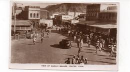 YÉMEN - View Of Maidan Square, Crater. ADEN - Animée + Tacots - 1951  (X124) - Yemen