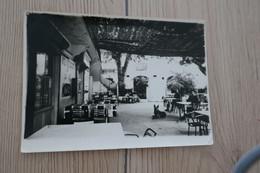 CPSM GF 34 Hérault Corniès Terrasse Hôtel Restaurant De La Vis - Otros Municipios