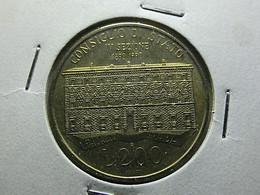 Italy 200 Lire 1990 Consiglio Di Stato - 200 Lire