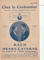 (MAI) BACH & HENRY LAVERNE , Chez Le Cordonnier  ,  Scène Comique - Spartiti