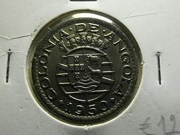 Portuguese Angola 50 Centavos 1950 Varnished - Portugal