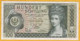 Autriche - Billet De 100 Schilling - Angelika Kaufmann - 2 Janvier 1969 - 2-Auflage - P146a - Oostenrijk