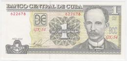 Cuba P 128 E - 1 Peso 2010 - UNC - Cuba