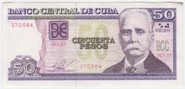 Cuba P 123 K - 50 Pesos 2016 - EF - Cuba