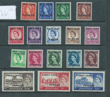 British Post Office Tangier, 1957, MH * - Morocco (1956-...)