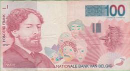 Belgique - Billet De 100 Francs - James Ensor - Non Daté - P147 - 100 Francs