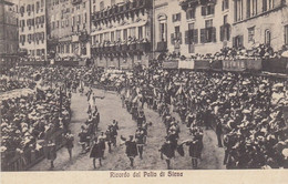 SIENA-RICORDO DEL PALIO- CARTOLINA VIAGGIATA  NEL 1930 - Siena
