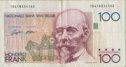 Belgique - Billet De 100 Francs - Hendrick Beyaert - Non Daté - P140 - 100 Francs