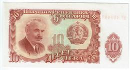 Bulgarie - Billet De 10 Leva - Georgi Dimitrov - 1951 - P83a - Neuf - Bulgaria