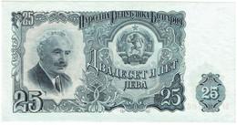 Bulgarie - Billet De 25 Leva - Georgi Dimitrov - 1951 - P84a - Neuf - Bulgaria