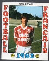 FOOTBALL FRANCAIS 1982 : REGIS DURAND  (Montpellier)   (PPP28801P) - Sports