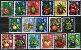 Montserrat 1965 Mi 158-174 Agriculture Products - MNH - Montserrat