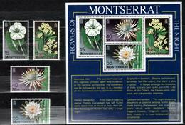 Montserrat 1977 Mi 366-369, Sh12 Flowers - MNH - Montserrat