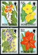 Montserrat 1978 Mi 389-392 Flowers - MNH - Montserrat