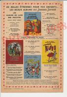 Publicité 1958 Albums De Jeunesse Joyeuse Album Bibi Fricotin L'Espiègle Lili Les Pieds Nickelés 249/13 - Unclassified