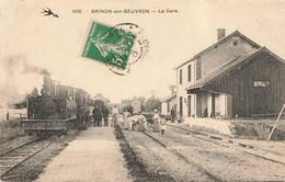 BRINON SUR BEUVRON : LA GARE - Brinon Sur Beuvron