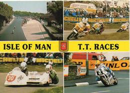 Course Moto Isle Of Man T.T. RACES - Motos, Side Car, Voitures, Combi VW, Multivues - BE - Motorcycle Sport