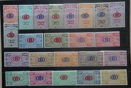 BELGIE   Spoorwegen  1940    TR 213 - 235    Postfris **  CW 28,00 - 1923-1941