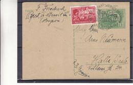 Hongrie - Carte Postale De 1951 - Entier Postal - Journée Du Timbre - Diligence - Industrie - Tour - Briefe U. Dokumente