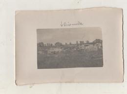 Photographie Originale.Guerre De 14/18. Belgique. Dixmude. Vue Prise De La Tranchée Rouge En 1917 - Guerra, Militares