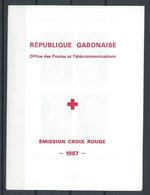 Gabon YT Bloc 6-7 Avec Carnet Neuf Sans Charnière XX MNH - Gabon