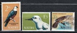 Nauru 1965 52-54 Birds - MNH - Nauru