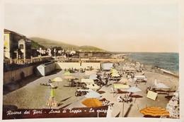 Cartolina - Riviera Dei Fiori - Arma Di Taggia - La Spiaggia - 1952 - Imperia