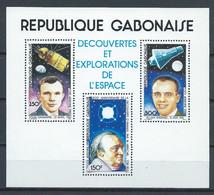Gabon YT Bloc 38 Avec Carnet Neuf Sans Charnière XX MNH Espace Space - Gabon