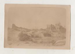 Photographie Originale.Guerre De 14/18. Belgique Nieuport Bains. Hôtel Régina Août 1918 - Guerra, Militares