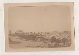 Photographie Originale.Guerre De 14/18. Belgique Nieuport Bains. Casino. Août 1918 - Guerra, Militares