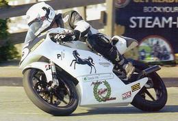 Course Moto Isle Of Man - Chris Palmer, Winner Of The Inaugural 125cc Billown TT Race, En 2008. Edition Limitée - Motorcycle Sport