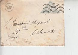 1922 Lettera Per Belmonte (PG) Non Affrancata-.- - Fantasy Labels