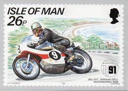 Course Moto Isle Of Man - 80ème Anniversaire TT Mountain Course - BILL IVY. Yamaha 125cc Waterworks 1968 - Motorcycle Sport