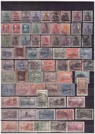SARRE  -    LOTTO DI 122 FRANCOBOLLI TUTTI DIFFERENTI IN PREVALENZA USATI - Collections, Lots & Series