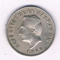 5 CENTAVOS 1966  EL SALVADOR /3975/ - El Salvador